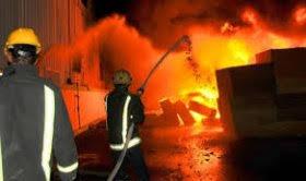 """Photo of نشوب حريق مهول بمحطة وقود على الطريق الإجتنابي """"بن عكنون""""_"""" زرالدة"""""""